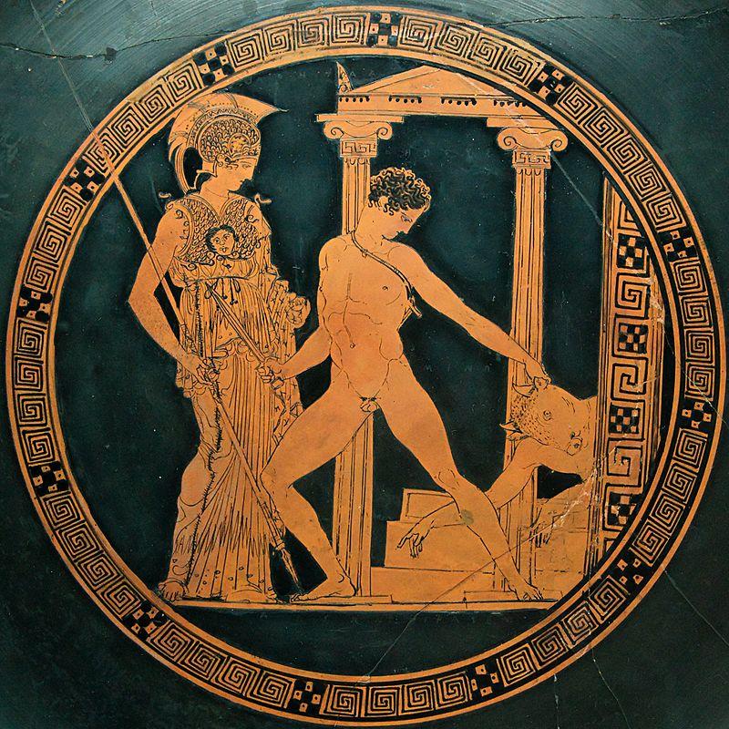 teseo-minotauro-atenea
